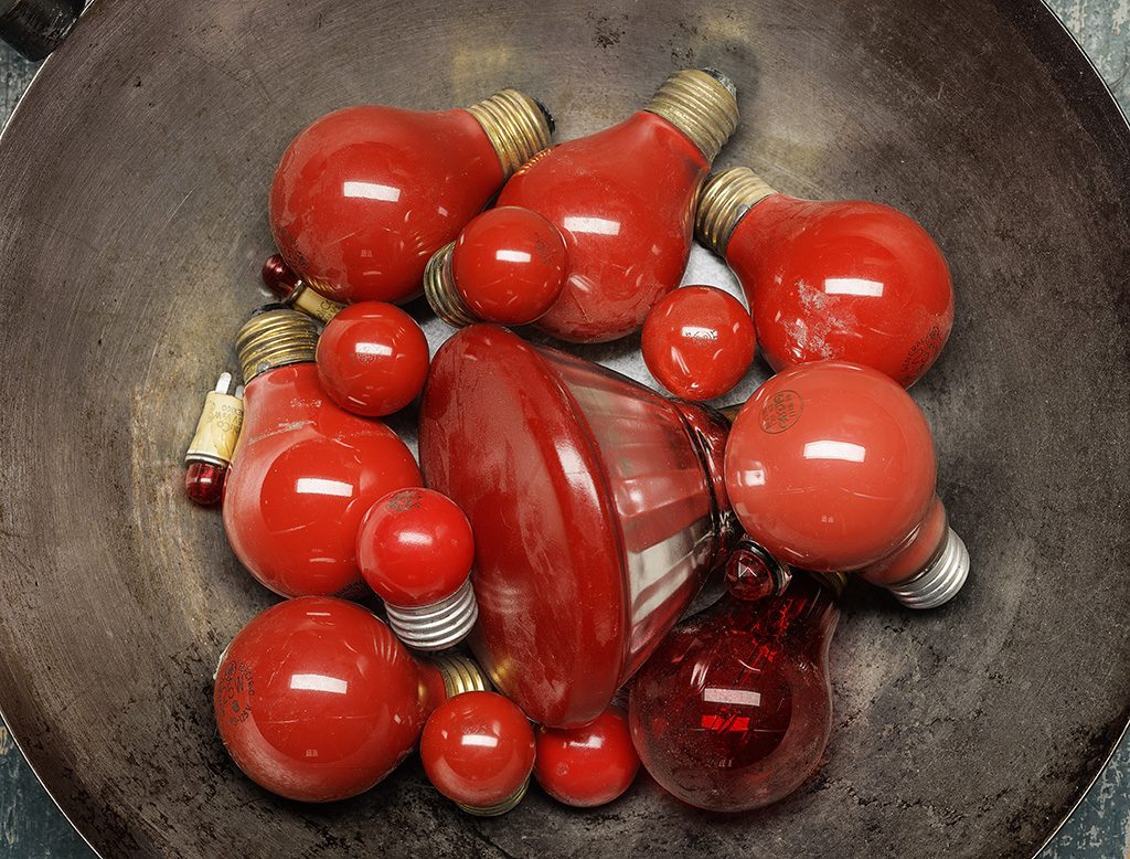 Still Life with Red Bulbs